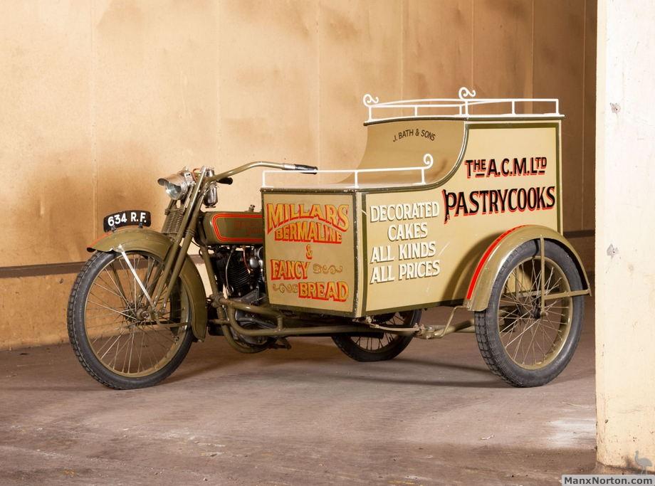 1923 Harley-Davidson Model J with Sidecar
