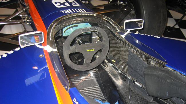 1999 Reynard Indy Car Cockpit