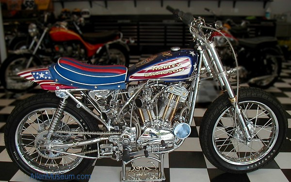 Evel Knievel S 1976 Harley Davidson Xl1000 Is For Sale: Evel Knievel XR750 Harley-Davidson Replica