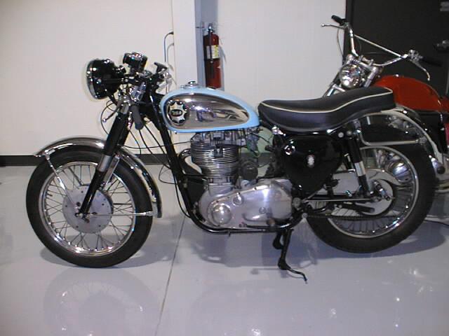 BSA Goldstar 1960