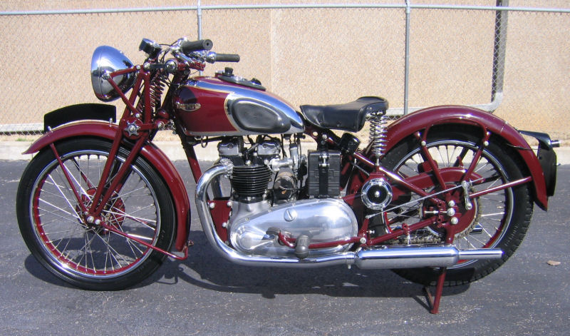 Triumph Speed Twin 1938